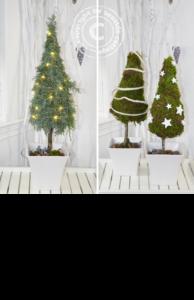 Weihnachtsbäume selbstgemacht