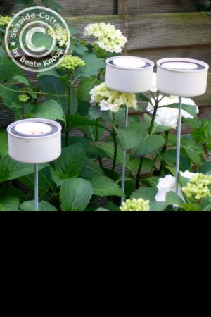 Teelichthalter aus Thunfischdosen Anleitung