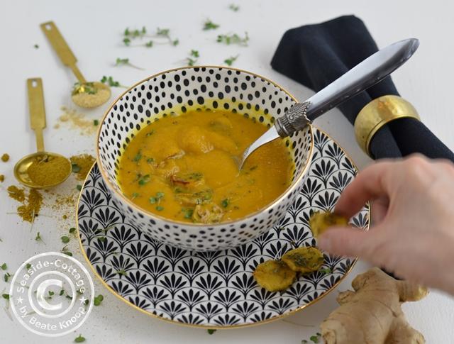 Gemüsesuppe Rezept Ofengemüse