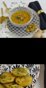 Gemüsesuppe vegetarisch Ofengemüse