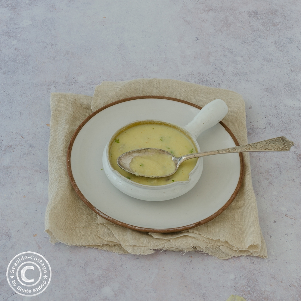 Rezept für Blumenkohlsuppe